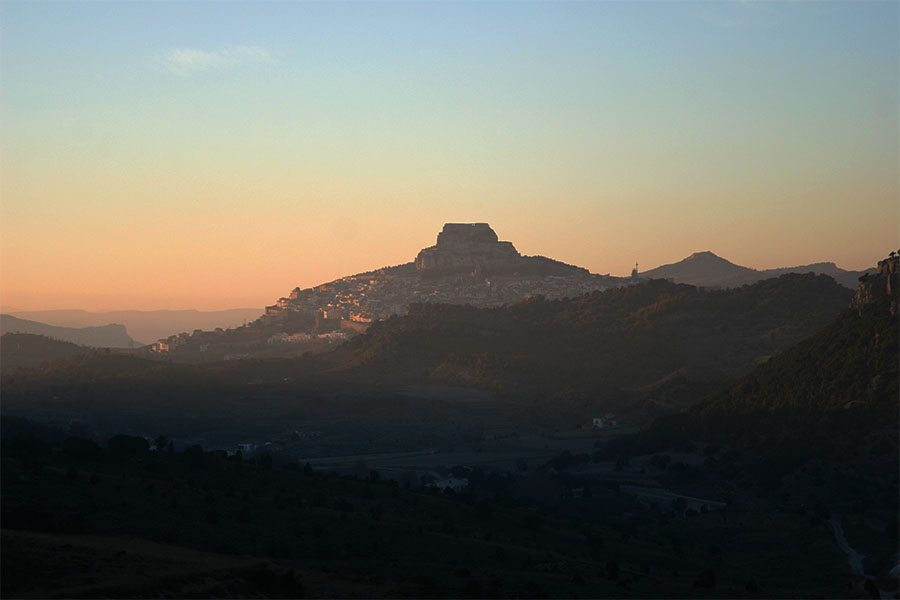 picture of Morella in the Evening
