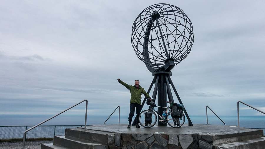 Klaus 2016 at the Northcape